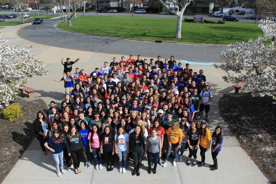 Seniors Rock Their Collegiate Shirts for