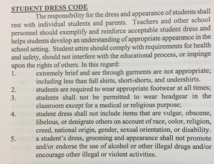 RANTS and RAVES: Don't Tell Me How to Dress - The BHS Dress Code