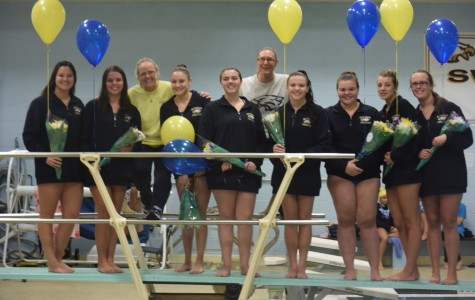 Bethpage Varsity Swim and Dive Team Finishes Year With a Win