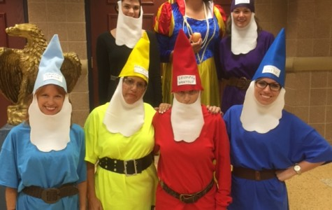 Staff Gears Up for Halloween at BHS
