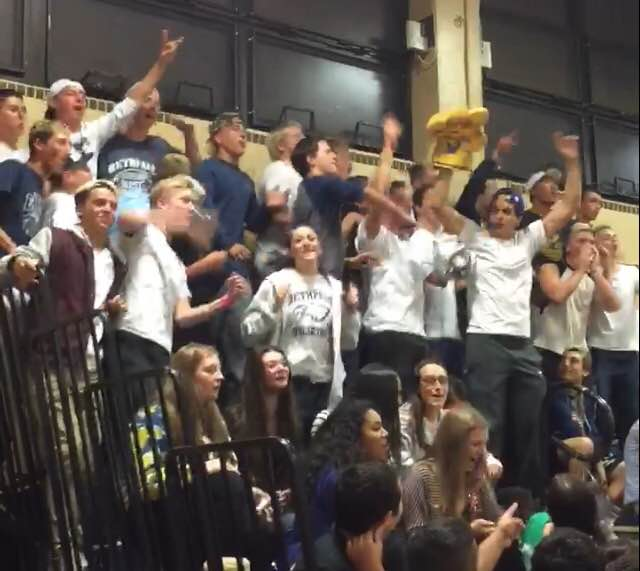 The White Tees Pump Up Bethpage Volleyball