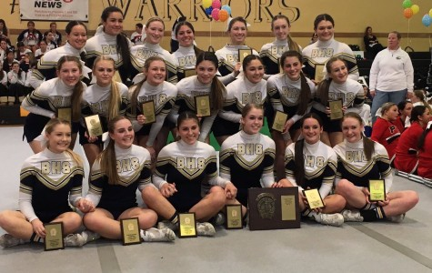 Bethpage Cheer Wins Counties, Heads to States