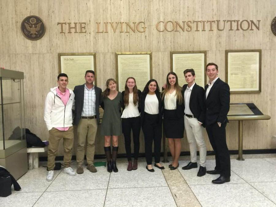 BHS Mock Trial Team Gets to Second Round of State Tournament