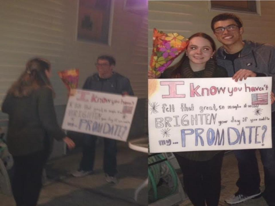 Senior Jillian Leavey and Senior Tommy D'agostino will be shining bright together at 2016's prom.
