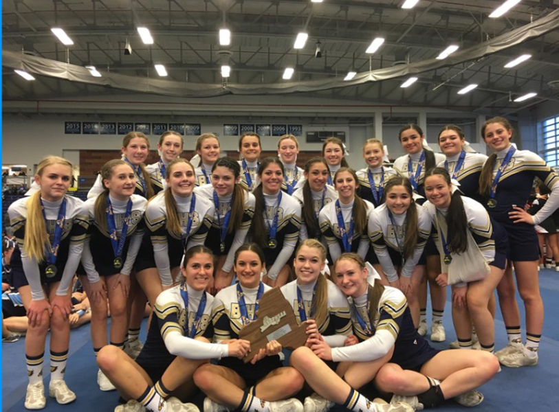 Bethpage+Cheer+Prepares+for+Another+Winning+Season