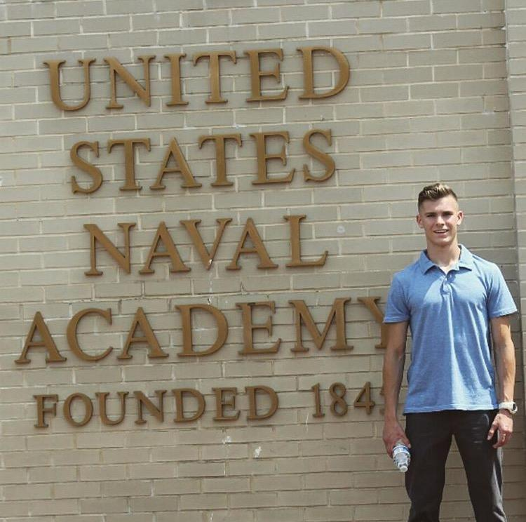 Senior Dan Midgette Accepted Into Dual Service Academies