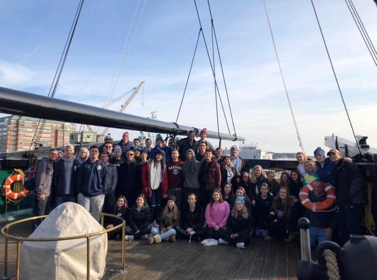 Bethpage National Honor Society Visits Boston