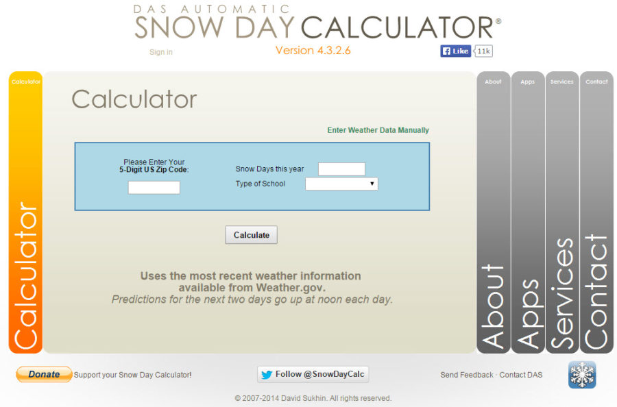 Will There be a Snow Day Tomorrow?