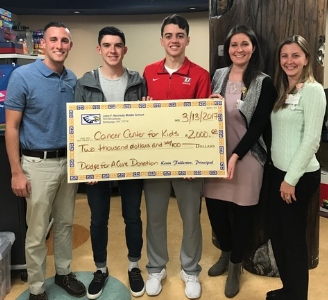 Mr. Fazio Raises Money to Help Cure Childhood Cancer