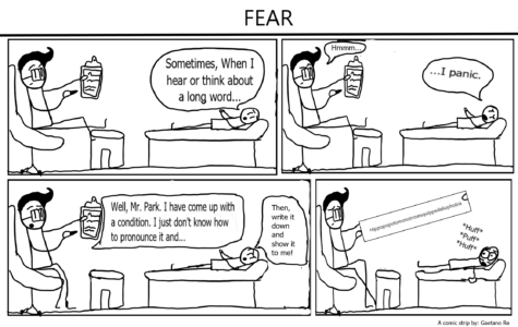 The Eagle's Cry Cartoon: Fear