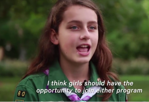Boy Scouts for Boys? Girl Scouts for Girls?