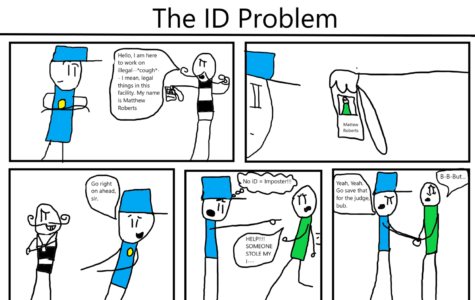 The Eagle's Cry Cartoon: The ID Problem